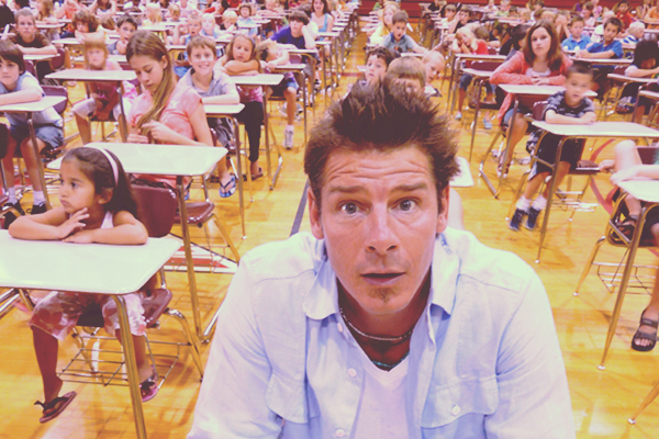 Ty Pennington's Instagram Contest: Back to School Throwback with Canvas On Demand