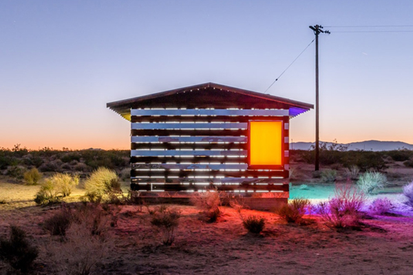 Designer Spotlight: Lucid Stead by Phillip K Smith III, Joshua Tree, CA.