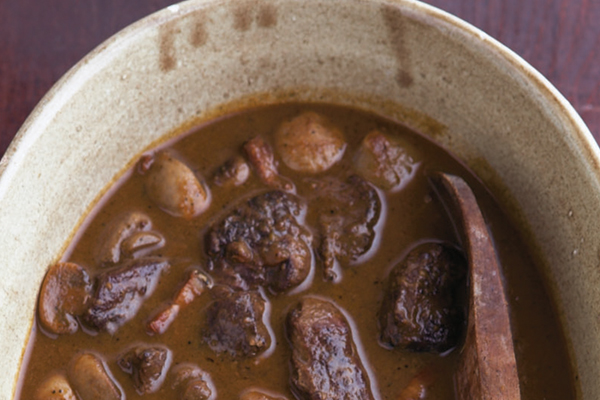 Slow Cooker Boeuf Bourguignonne Recipe by Virginia Willis
