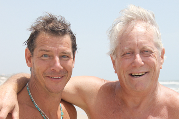 Ty Pennington and Bruce Stern