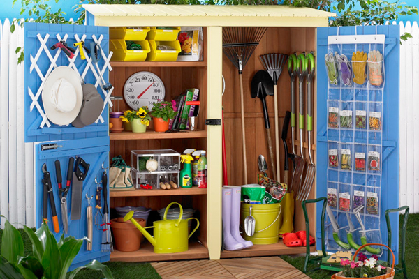How to Organize Your Garden Shed | Ty Pennington
