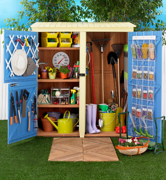 How To Organize Your Garden Shed Ty Pennington