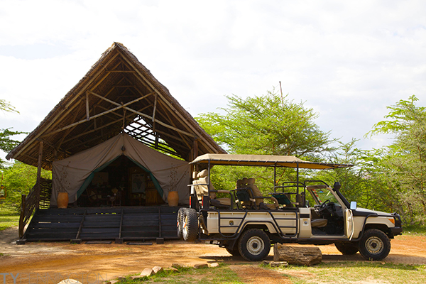 Selous River Impala Camp