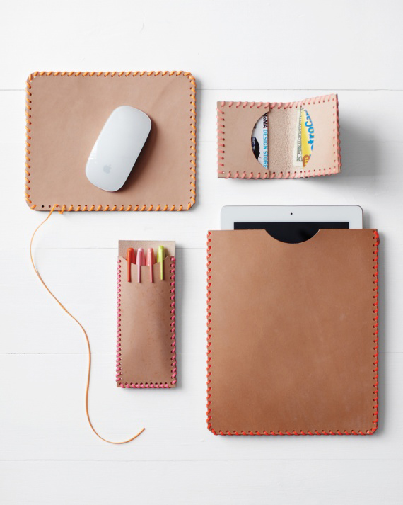 Handmade Leather Electronic Case 10 Diy Gift Ideas For