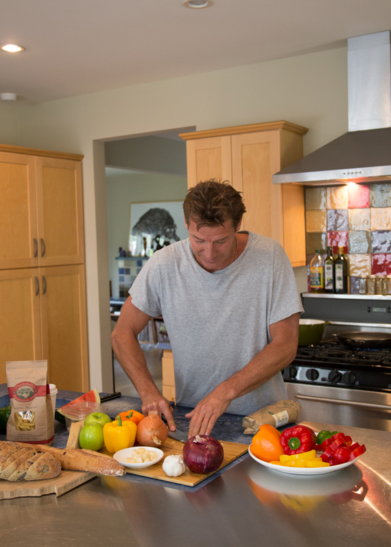 Good Eats: Ty Pennington's Spicy Penne Pasta Recipe