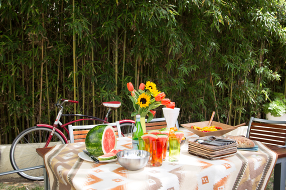 Super Outdoor Living Summer Tablescapes By Ty Pennington Ty Home Interior And Landscaping Palasignezvosmurscom
