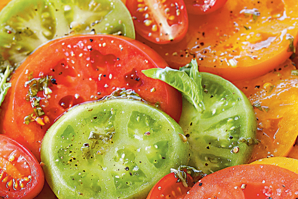 Summer Eats: Rebecca's Heirloom Tomato Salad